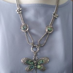 Dragonfly statement knecklace